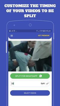 Video  Splitter :- SPLIT and Share Directy screenshot 2