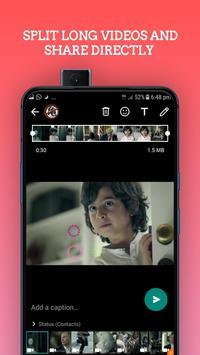 Video  Splitter :- SPLIT and Share Directy screenshot 6