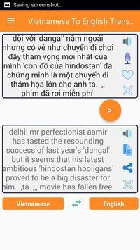 Vietnamese English Translator screenshot 1