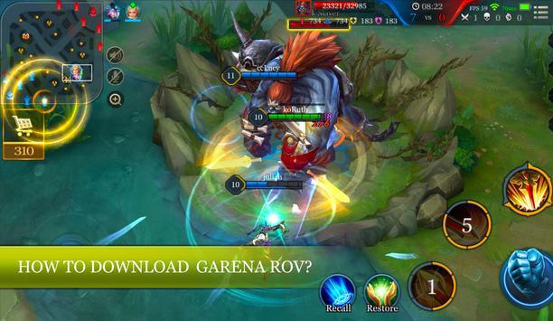 5v5 Guide MMORPG Mobile PC screenshot 2