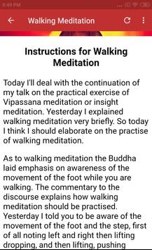 VIPASSANA MEDITATION COURSE screenshot 4