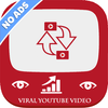 Viral Video Booster-View4View for YT,Video Promote icône