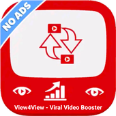 View4View-ViralVideoBooster, Video,Chanel Promoter ícone