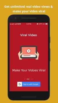 View4View-ViralVideoBooster, Video,Chanel Promoter Cartaz