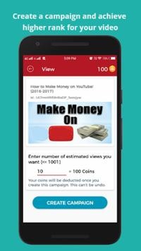 View4View-ViralVideoBooster, Video,Chanel Promoter imagem de tela 1