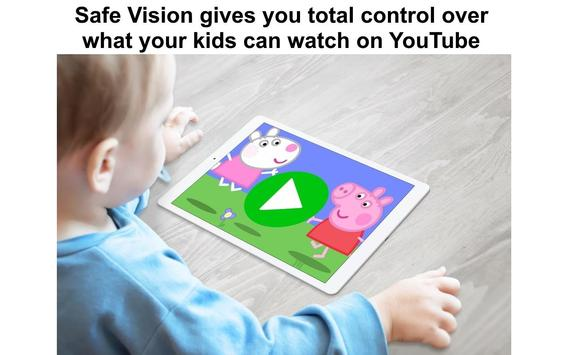 Safe Vision: Control What Your Kids Watch Online 截圖 12