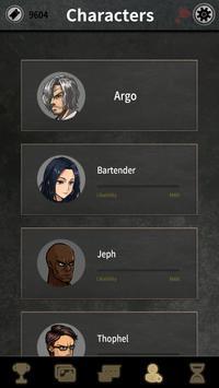 Argo's Choice: Visual novel, noir adventure story screenshot 1