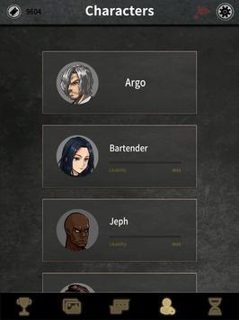 Argo's Choice: Visual novel, noir adventure story screenshot 6