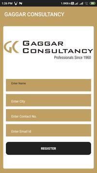 GAGGAR CONSULTANCY poster