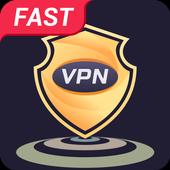 Flat VPN-icoon