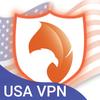 للأندرويد LA USA VPN برنامج أيقونة