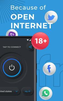 VPN Proxy - 100% Unlimited VPN screenshot 7