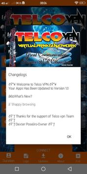 Telco VPN screenshot 2