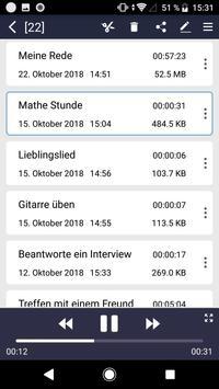 Diktiergerät Screenshot 7