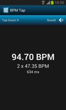 BPM Tap Free скриншот 2