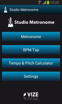 Poster Mobile Studio Metronome Free