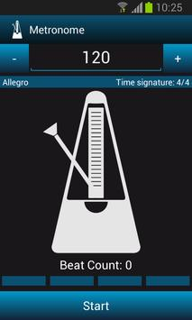 Mobile Studio Metronome Free screenshot 1