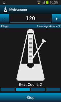 Mobile Studio Metronome Free screenshot 2