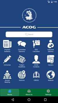 ACOG poster