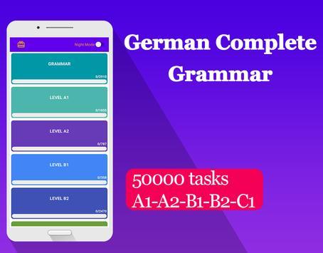 German Complete Grammar poster