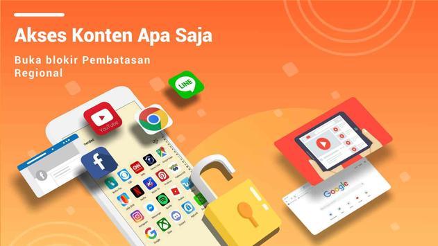 VPN Master syot layar 1