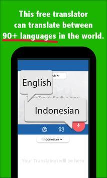 Indonesian English Translator screenshot 1