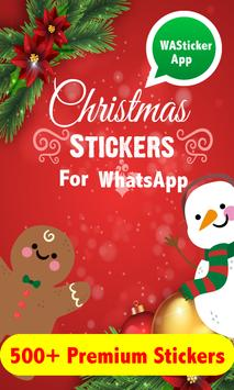 Christmas Stickers for WAStickerApps poster