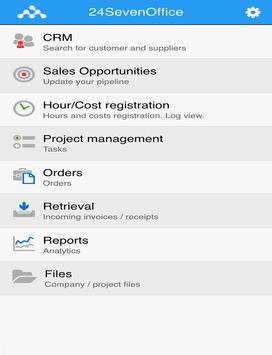 24SevenOffice screenshot 5