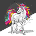 Unicorn - Paint by Numbers