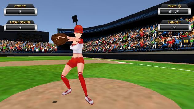 Homerun Baseball 3D screenshot 5