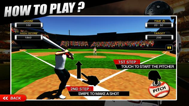Homerun Baseball 3D screenshot 3