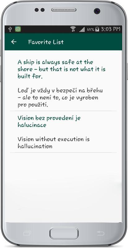 English Czech Republic Translate Screenshot 4