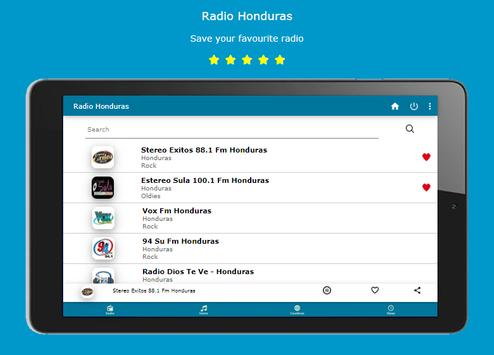 Radio Honduras + 30,000 World Radio screenshot 4