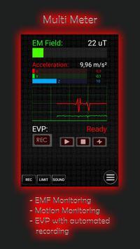 Ultimate Ghost Detector (real EMF, EVP recorder) Ekran Görüntüsü 7