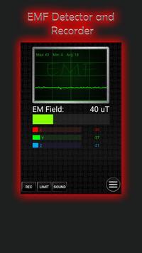 Ultimate Ghost Detector (real EMF, EVP recorder) Ekran Görüntüsü 9