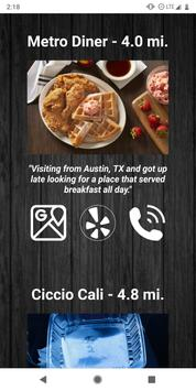 WhatsNext - Find Top Restaurants Near You screenshot 3