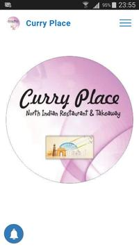 Curry Place App poster