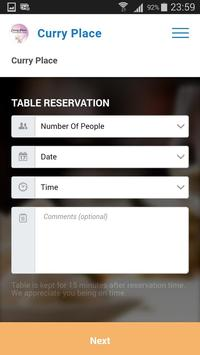 Curry Place App screenshot 7