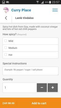 Curry Place App screenshot 5