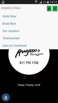 Angelo's Pizza App screenshot 1