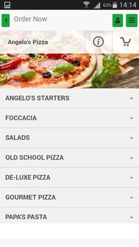 Angelo's Pizza App screenshot 2