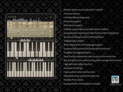chaotic piano تصوير الشاشة 10
