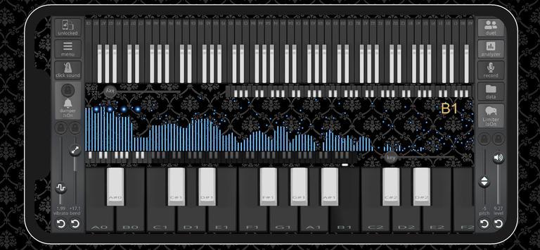chaotic piano تصوير الشاشة 1