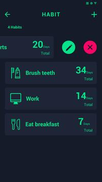 My Habit  & Goals & Tasks screenshot 3