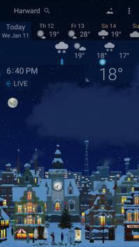 Awesome Weather YoWindow - Live Wallpaper, Widgets poster