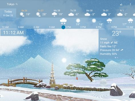 Awesome Weather YoWindow - Live Wallpaper, Widgets screenshot 13