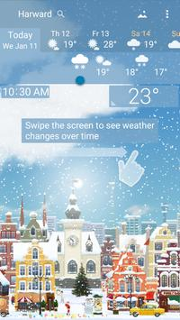 Awesome Weather YoWindow - Live Wallpaper, Widgets screenshot 1