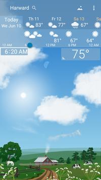 Awesome Weather YoWindow - Live Wallpaper, Widgets screenshot 3