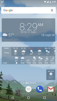 Awesome Weather YoWindow - Live Wallpaper, Widgets screenshot 4
