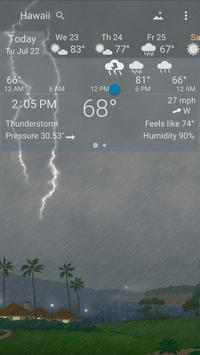 Awesome Weather YoWindow - Live Wallpaper, Widgets screenshot 6